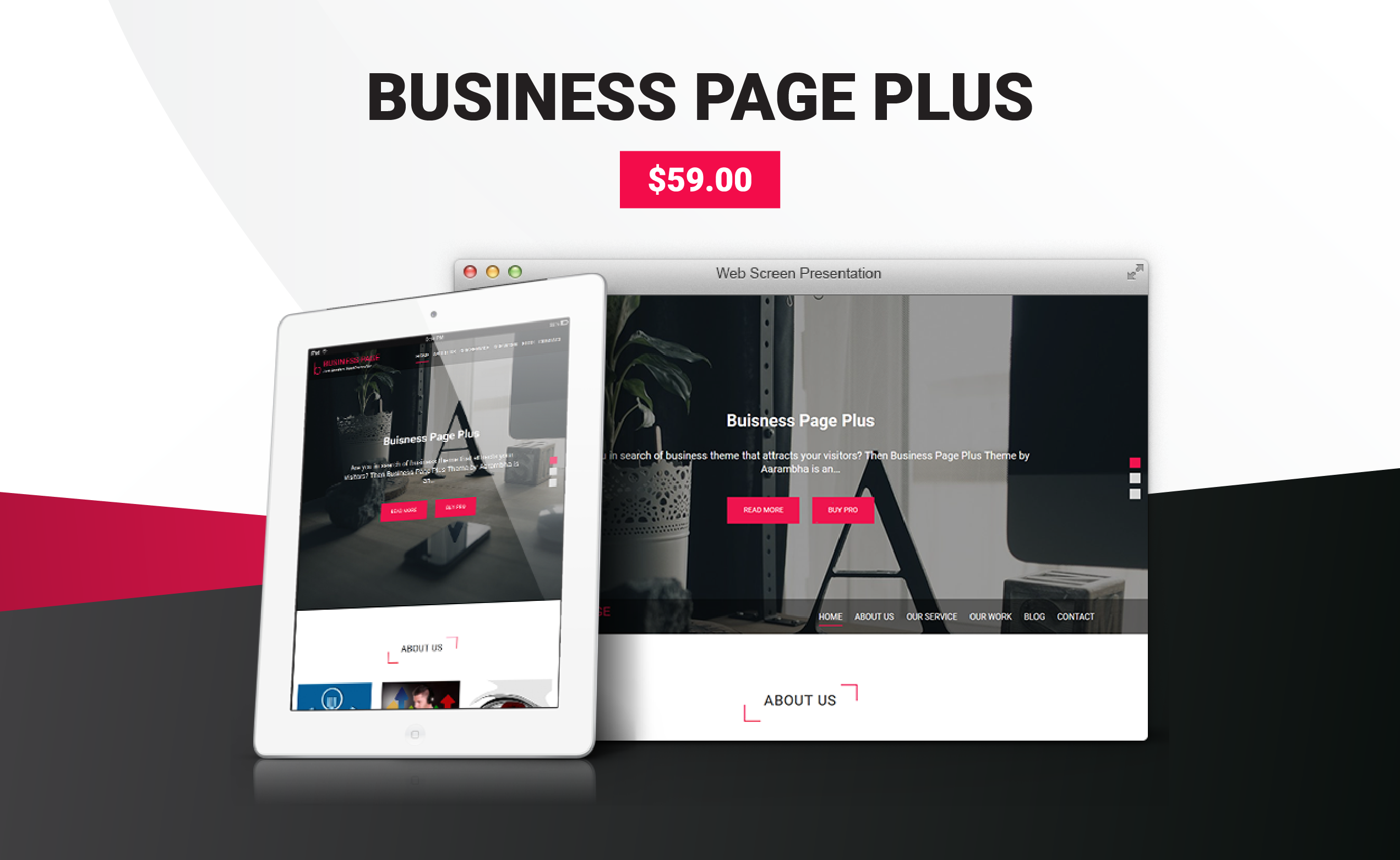 Business Page Plus