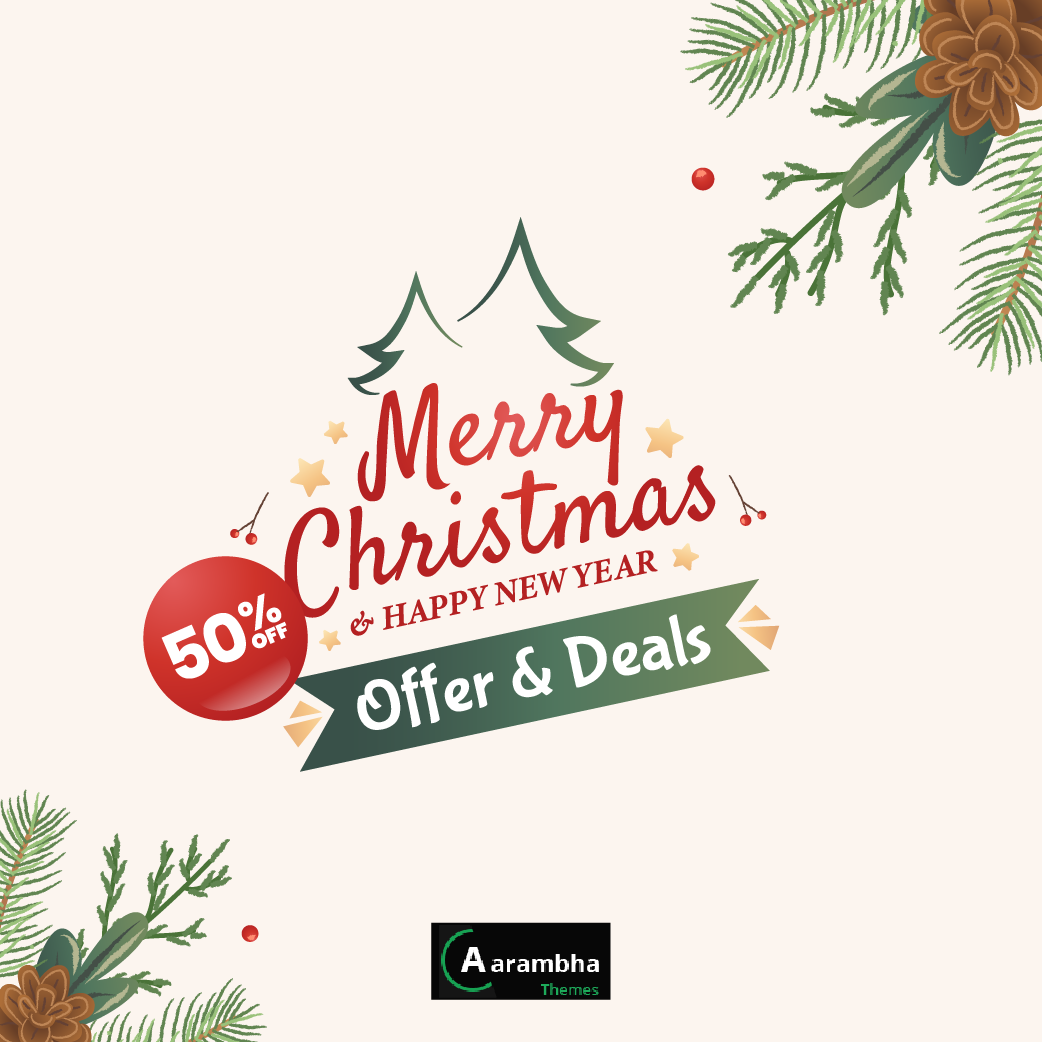 The best deals & Offers on Christmas and New Year