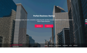 Business Page Free Theme