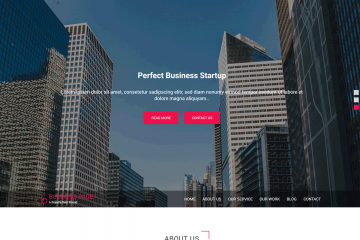 Business Page – A Marvelous Business WordPress Theme