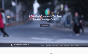 Business Page Plus Theme