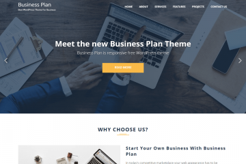 Business Plan Free Theme