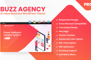 Buzz Agency Pro – An Ideal Business WordPress Premium Theme