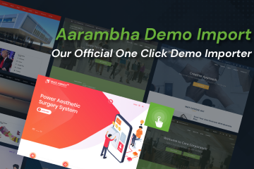 Aarambha Demo Import – Our Official One Click Demo Importer