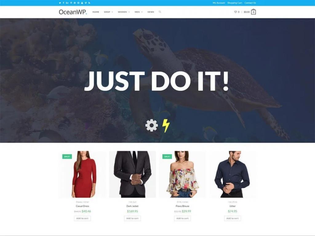 OceanWP Free Blog Theme