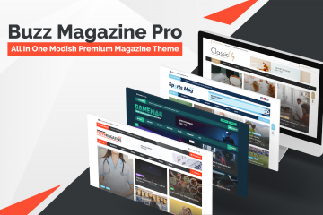 Buzz Magazine Pro – All In One Modish Premium Magazine Theme