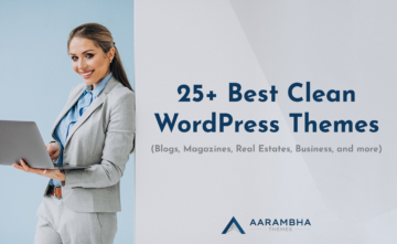 25+ Best Clean WordPress Themes