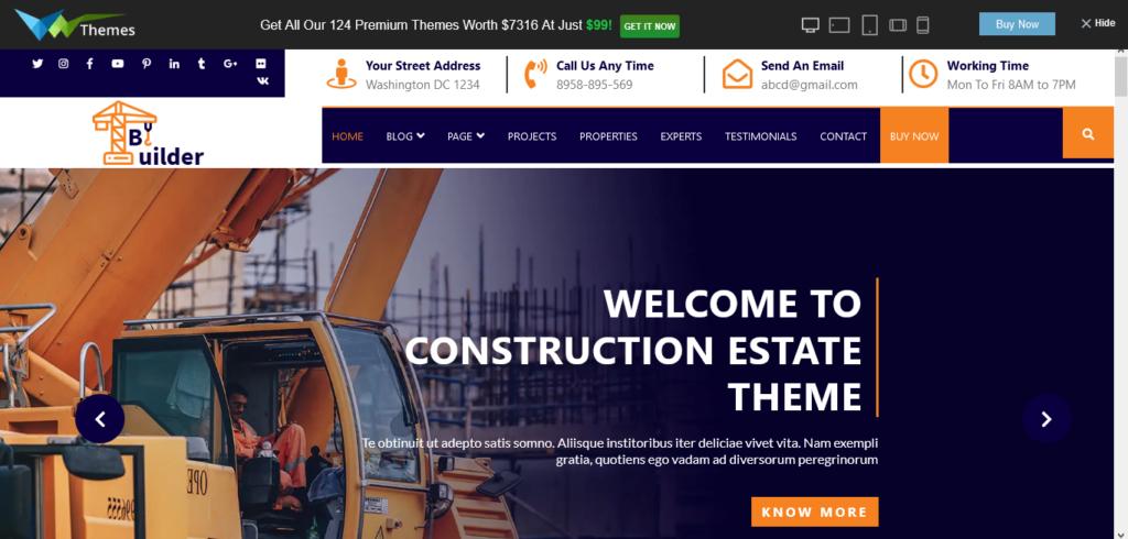 VW Construction Estate