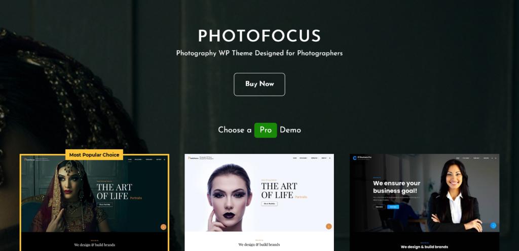 PhotoFocus Multipurpose Theme