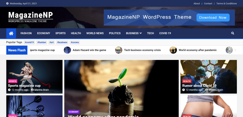 MagazineNP