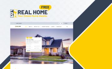 Real Home Free Theme